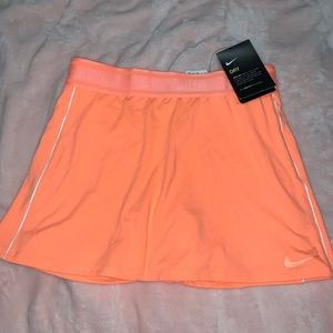 Nike court tennis skort orange XS
